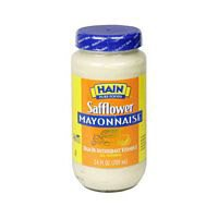 Hain Pure Foods Safflower Mayonnaise 24 Oz (Pack Of 6) - Pack Of 6