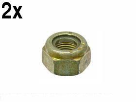 BMW e36 z3 Lock Nut for Tie Rod Ends 10x1.0mm (x2 nuts) ()