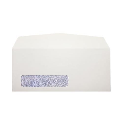 #10 Window Envelopes (4 1/8 x 9 1/2) - 24lb. Bright White (Laser Safe) w/Secrity Tint (250 Qty.)