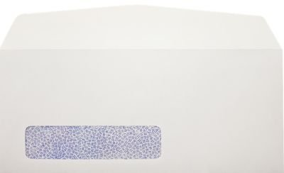 #10 Window Envelopes (4 1/8 x 9 1/2) - 24lb. Bright White (Laser Safe) w/Secrity Tint (250 Qty.) Envelopes.com