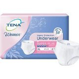 (Tena Women Protective Underwear, Super Plus, X-Large, Case/56 (4 bags of 14))
