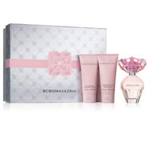 BCBG MAXAZARIA Gift-Set - Eau De Perfume, Body Lotion and Shower Gel in Box (Bcbg Max Azria Perfume Bon Chic Gift Set)