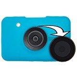 Pocketek PTK-BLU-SNAP1 Polaroid Snap Instant Print Digital Camera, Snap Pocket Case with Magnetic Grasping Lens Cap Zone, Blue