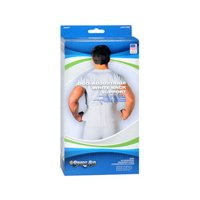 Sport Aid Back Support Duo-Adjustable White XL 1 Each (Pack of 2) by SportAid