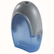 Office Depot Brand(R) Single-Hole Manual Pencil Sharpener, Translucent Blue, 060520 by Office Depot