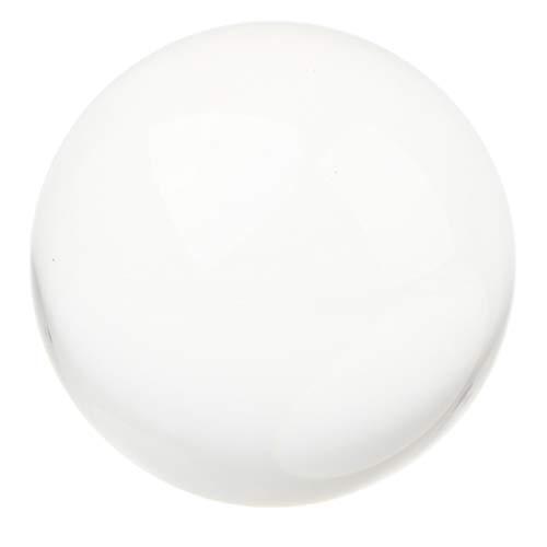 Fenteer Bola Cristal Clara Esfera de Fotografía Decoración para Hogar  Escritorio Boda - 80 mm c599c67229a33