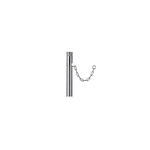 リクシル TOEX スペースガード(車止め) LNM02 S48型 埋込式 キー付き オプションポール(取替用) クサリ内蔵型 『リクシル』 B075RWW46H 15420
