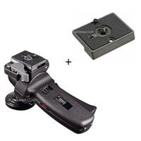 Manfrotto Improved Grip Action Ball Head with Quick Release - Supports 11 lb - with Additional Mounting Plate