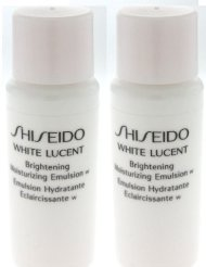 - 2 Shiseido White Lucent Brightening Moisturizing Emulsion Samples 14ml