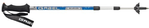 Gabel Escape Lite Click Blue Pro Trekking Pole (1 Pair), Outdoor Stuffs