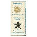 Pondicherry Natural Incense Himalayan Cedar Cones 20 per package (includes ceramic cone stand) (a) - 2pc