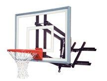 最初チームroofmaster III steel-acrylic屋根マウント調整可能バスケットボールsystem44、スカーレット B01HC0E9O8