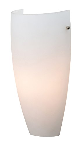 Daphne  - 1-Light Wall Sconce - Opal Glass Shade