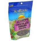 Sunridge Farms, All Natural Dark Chocolate Ginger, Pack of 10, Size - #, Quantity - 1 Case