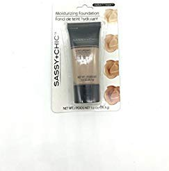 - Sassy+Chic Moisturizing Make-up Foundation, Medium 1, Net wt 1.0 Oz