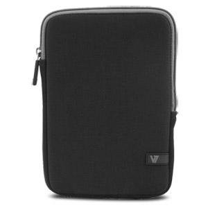 V7 Ultra Protective Sleeve For Ipad Mini And 8 Tablets, Black W/grey Trim