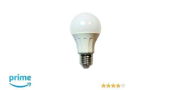 Aigostar Bombilla LED A60 Big Angle de 6W, rosca grande y luz fría E27: Amazon.es: Iluminación
