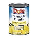 Dole, Pineapple Chunk, 20 Ounce