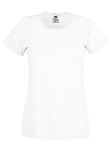 Of The shirt Bianco Fruit T Loom Donna dz81wp