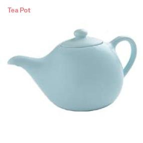 BlissHome Nigella Lawson's Living Kitchen Tea Pot, Blue