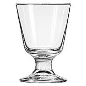 (LIB3747 - 7 Ounce Embassy Footed Rocks Glass)