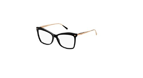 9c44ee4697a Max Mara Max Mara 1288 006K Black Gold Copper Eyeglasses at Amazon Men s  Clothing store