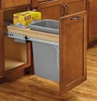 Top Mount Trash Pull-Outs with Soft Close, 18