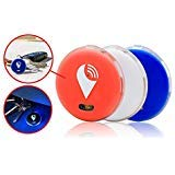TrackR Pixel - Bluetooth Tracking Device. Item Tracker. Phone Finder. iOS/Android Compatible - Red White Blue