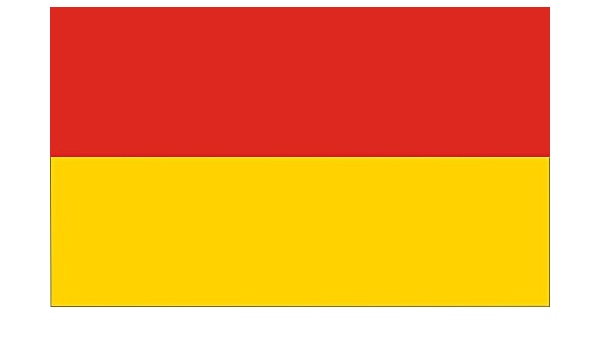 flaggenmeer/® Tischbannerst/änder Chrom Flachfu/ß 10 cm ca 42 cm hoch