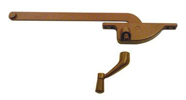 Prime-Line Products 1762-LB Casement Operator, 9-Inch Teardrop Type, Right Hand, Bronze