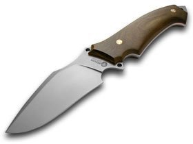 BOKER TREE BRAND Guayacan Ebony Wood Arbolito Buffalo Soul II Fixed Blade Knife Knives For Sale
