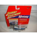 JOHNNY LIGHTNING MUSTANG ILLUSTRATED SERIES BLUE AND WHITE 1967 SHELBY GT-500 DIE-CAST REPLICA ()