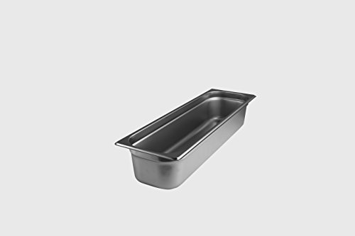 Steam Table Pan, Stainless Steel, 1/2 Size Long, STPHL224 by Starkcook®