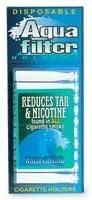Aqua Filter, Nicotine & Tar Filtered Disposable Cigarette Holders - 10 ea