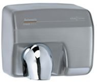 1.9 Mm Wall (Saniflow E88A-CS Automatic Hand Dryer; Steel one-piece cover chromed satin finish 5/64