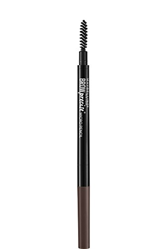 Maybelline Makeup Brow Precise Micro Eyebrow Pencil, Deep Brown Eye Brow Shade, 0.002 oz