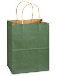 クラフトTintedカラーショッピングバッグ – 8 x 4 1 2 x 10 1 4インチ、Cub B072J82NKP