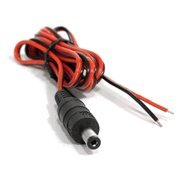 (Professional CCTV Security Camera DC Male Power Plug Pigtail Cable (1 pack))