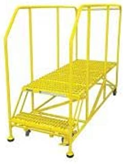 product image for Cotterman 2WP2460RA3B4B8AC2P6 - Work Platform 2 Step Steel 20In. H.