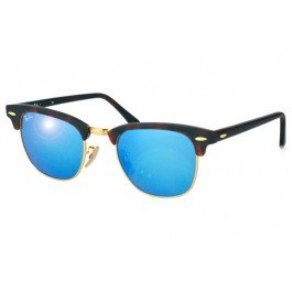 2beb157691 Ray-Ban RB3016 Clubmaster Flash Lenses 1145 17  Amazon.co.uk  Clothing