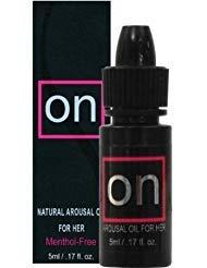 ON Natural Arousal Oil For Her 5ml Bottle