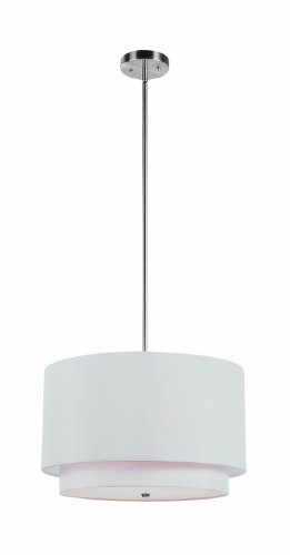 Tiered Drum Pendant Light