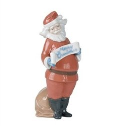 Nao by Lladro #1399, Santa's Best Wishes by Lladro