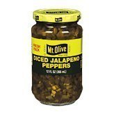 Mt Olive Diced Jalapeno Peppers product image