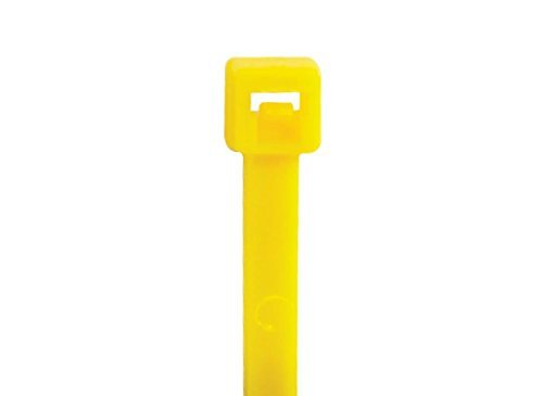 RetailSource CT422Cx1 4 18# Yellow Cable Ties 3 Height 7 width 10 Length (Pack of 1000) [並行輸入品]   B07896D9DL