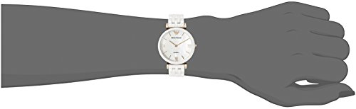 Emporio Armani Women's AR1486 Dress White Ceramic Watch