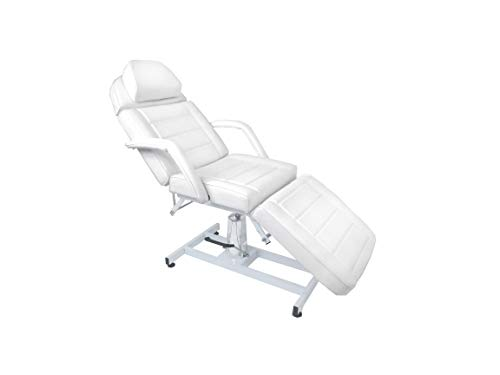 eMarkbeauty Adjustable Memory Foam Salon Spa, Hydraulic Massage Bed, Facial Bed, Fitted Sheets TLC-HFBED2