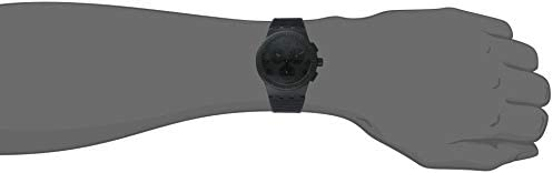 Swatch Time (Core) Quartz Silicone Strap, Black, 20 Casual Watch (Model: SUSB104)