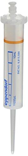Eppendorf 30089464 Combitips Advanced Tip, Orange, 10 mL Capacity, Nonsterile