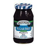 Smucker's 2 Pack of Sugar Free Seedless Blackberry Jam